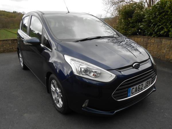 Ford  B-MAX 1.5 TDCi  Zetec  5 Door