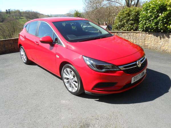 Vauxhall Astra 1.4 Turbo 125 Tech Line