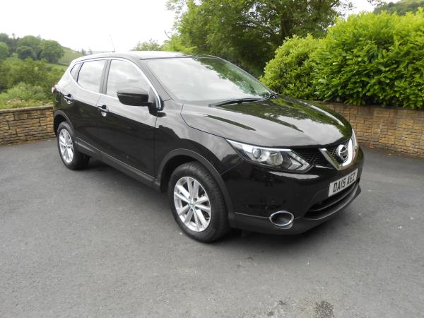Nissan Qashqai 1.5 DCi Acenta Smart Vision Pack