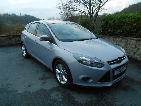 Ford  Focus 1.6 TDCi  Zetec  5 Door