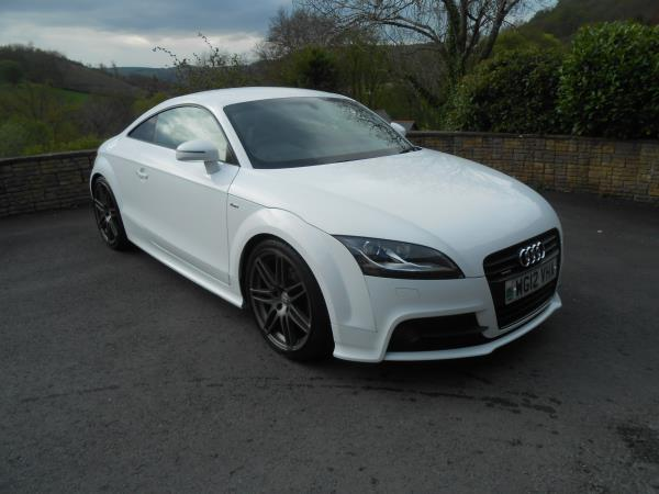 Audi TT Coupe  2.0 TDi Quattro Black Edition
